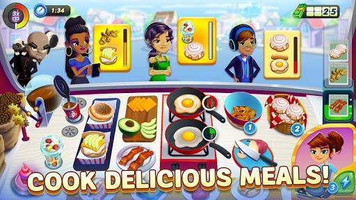 Diner DASH Adventures MOD (Tiền, Mạng, Jetpacks, Booster)