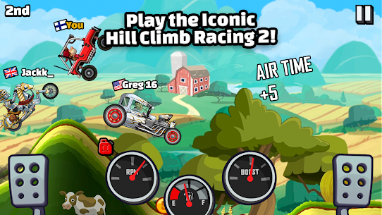 Hill Climb Racing 2 MOD (Unlimited Money Maps Unlock) For Android 1