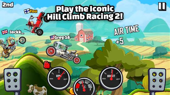 Hill Climb Racing 2 Mod Apk (Unlimited Fuel & Money) – Updated 2021 1
