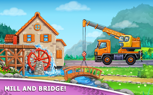 Image For Truck games for kids - build a house, car wash Versi 7.3.4 4