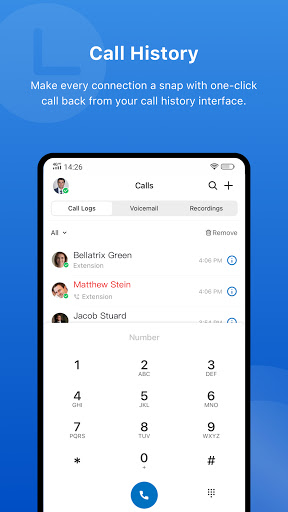 Yeastar Linkus Mobile Client apktram screenshots 5