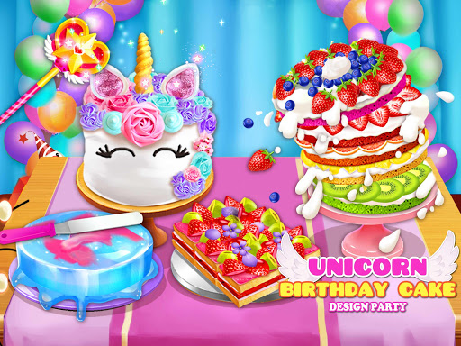 Birthday Cake Design Party - Bake, Decorate & Eat! 1.6 screenshots 1