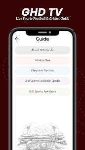 Guide For – GHD SPORTS Live Cricket TV Apk Download 2021 4