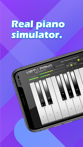 Piano Keyboard - Free Simply Music Band Apps 1.3 Screenshots 1