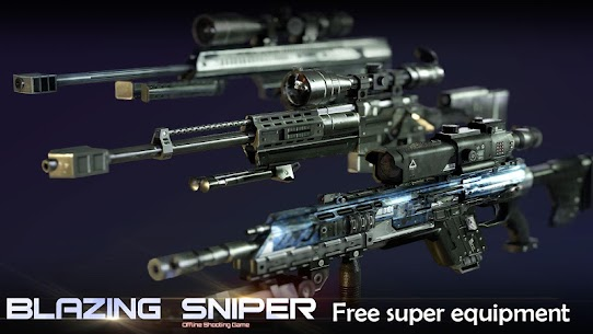 Blazing Sniper Mod Apk 2.0.0 (Unlimited Money) 2