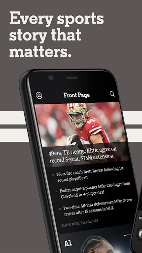 the athletic: sports news, stories, scores & more screenshot 1