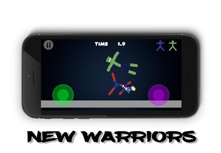 Stickman Warriors Online 1.0 screenshots 1