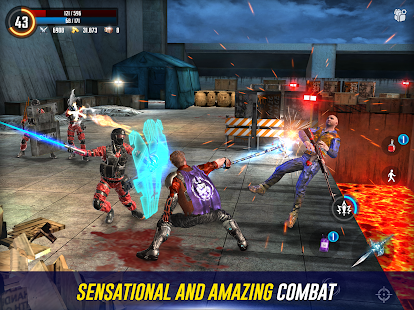 Cyber Prison 2077 Future Action Game against Virus Screenshot