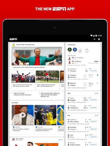 ESPN android2mod screenshots 15