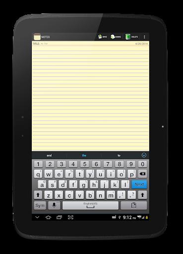 NOTES 1.27 Screenshots 10