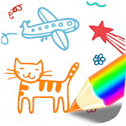 Kids Drawing - Kids Coloring -  Art Games for Kids