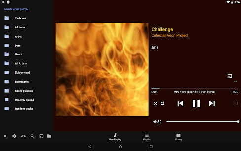 BubbleUPnP for DLNA Pro Apk Chromecast / Smart TV 9