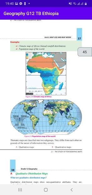 Geography Grade 12 Textbook for Ethiopia 12 Grade screenshot 5