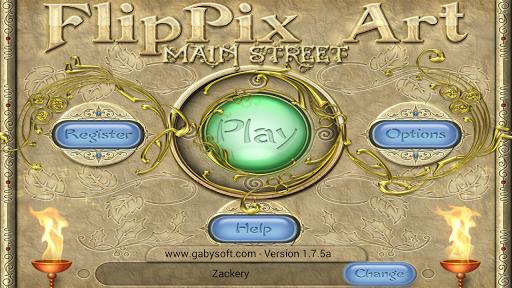 flippix art - main street screenshot 1