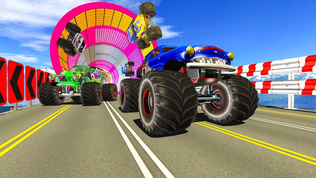 Extreme Monster Truck Stunts: Car Stunt Games 2021 screenshot 3