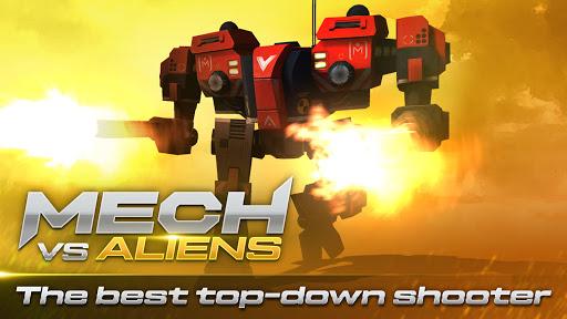 Mech vs Aliens: Top down shooter   RPG  screenshots 1