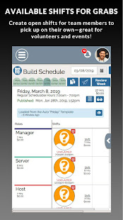 SHIFTR Employee Scheduling and Time Clock
