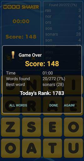 Word Shaker Free 4.1 screenshots 2