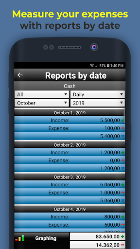Daily Expenses 2: Personal finance android2mod screenshots 5