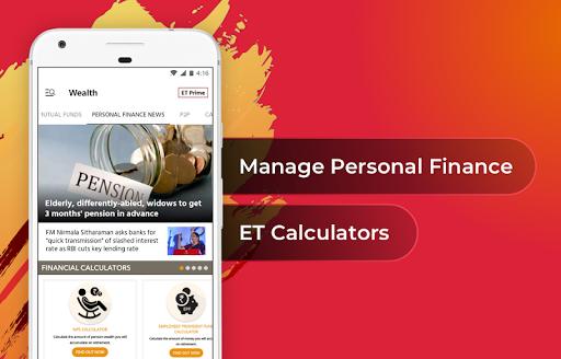 The Economic Times: Sensex, Market & Business News 4.0.7 screenshots 2