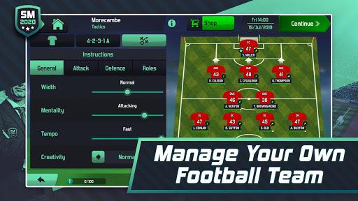 Soccer Manager 2020 - Football Management Game 1.1.13 screenshots 2