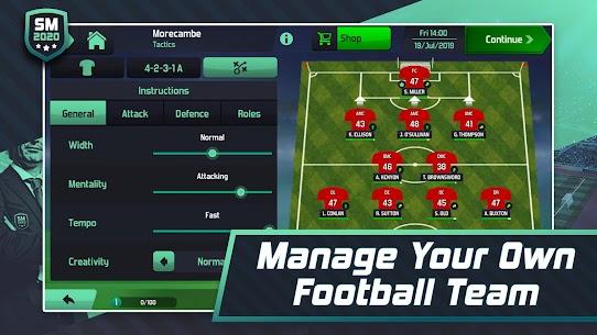 Soccer Manager 2020 MOD APK 1.1.13 (Unlocked) 2