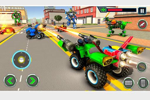 Goat Robot Transforming Games: ATV Bike Robot Game screenshots 4