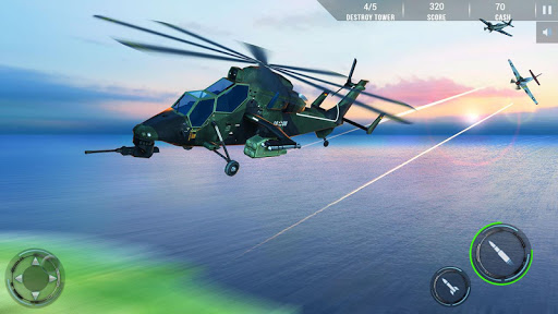 Helicopter Combat Gunship - Helicopter Games 2020 modavailable screenshots 4