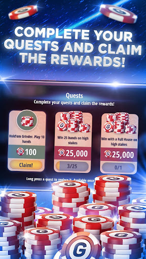 Poker Texas Holdem Live Pro  Screenshots 7
