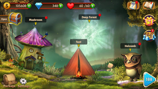 Mystery Forest - Match 3 Game Puzzle (Rich Reward) apkpoly screenshots 3