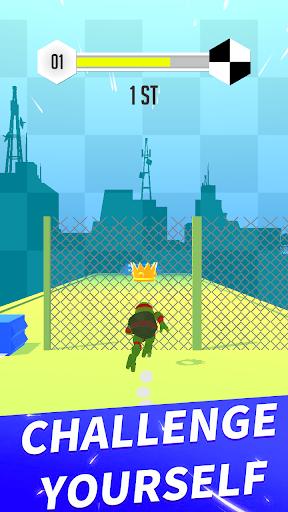 turtle parkour race 3d - free screenshot 2