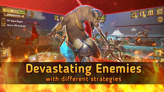 Ratropolis : CARD DEFENSE GAME screenshots 11