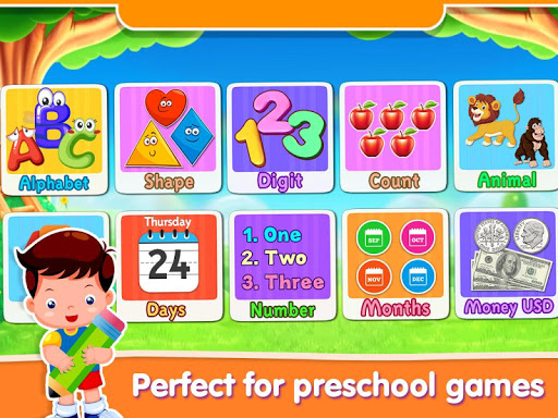 Preschool Learning - 27 Toddler Games for Free 18.0 Screenshots 3