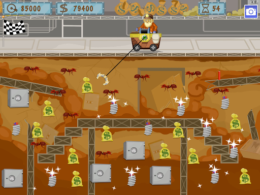 Gold Miner World Tour: Gold Rush Puzzle RPG Game apktram screenshots 9