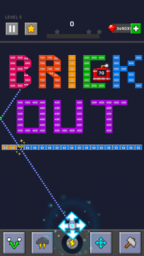Brick Out - Shoot the ball modiapk screenshots 1