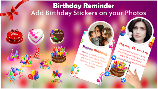 Birthday Reminder: Birthday Photo For Pc | How To Download For Free(Windows And Mac) 1
