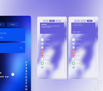 DashCards for KLWP Screenshot