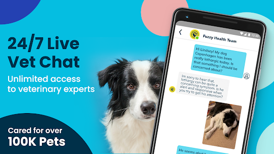 Fuzzy  Find Live Vet Support  Care for Your Pets Apk 3