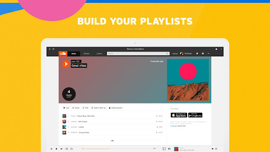 SoundCloud for Chromebooks 2 Screenshots 4
