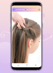 Hairstyles step by step 1.24.1.0 Screenshots 4