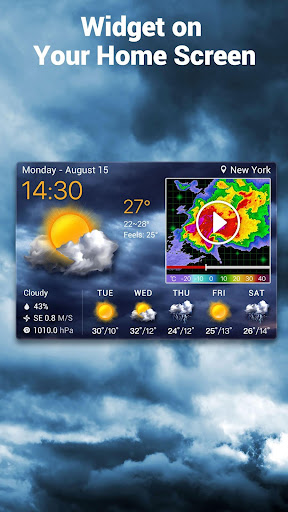Local Weather Forecast & Real-time Radar checker 16.6.0.6325_50165 Screenshots 1