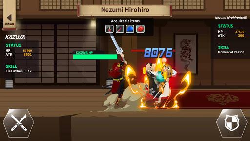 samurai kazuya : idle tap rpg screenshot 3