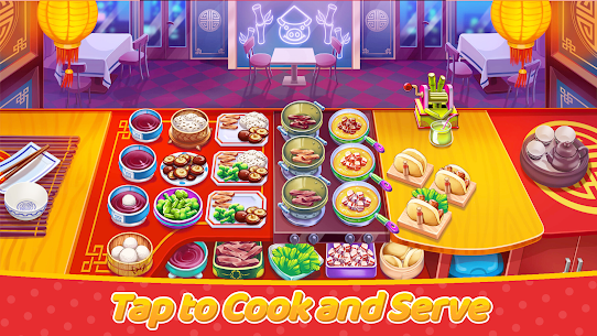 Craze Cooking Tale: Fast Restaurant Cooking Games (MOD, Unlimited Money) 1