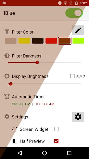 Bluelight Filter 7.3.3 Screenshots 1