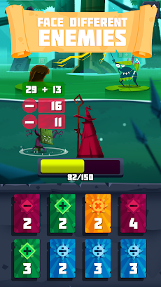 Arithmagic - Math Wizard Gameのおすすめ画像3