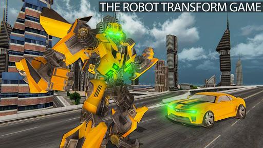 Grand Shooting Robot Transform Car 2019 1.0.2 screenshots 1