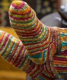 かぎ針編みソックスのおすすめ画像3