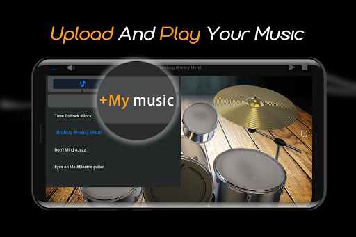 Easy Real Drums-Real Rock and jazz Drum music game 1.3.5 Screenshots 4
