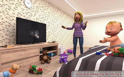 Virtual Baby Simulator Game: Baby Life Prank 2021  screenshots 1