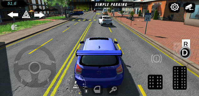 Real Car Parking Multiplayer  Driving School Apk İndir 2